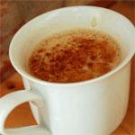 Кофейный напиток с молоком и медом