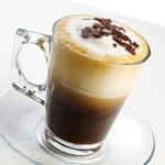 Яичный холодный кофе