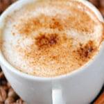 Имбирно-яблочный кофе с кленовым сиропом